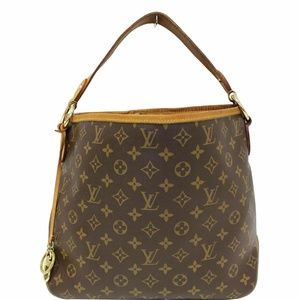 LOUIS VUITTON Delightful Shoulder Bag Brown